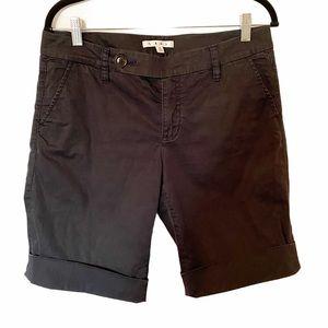 Cabi Navy Blue Bermuda Shorts Size 8